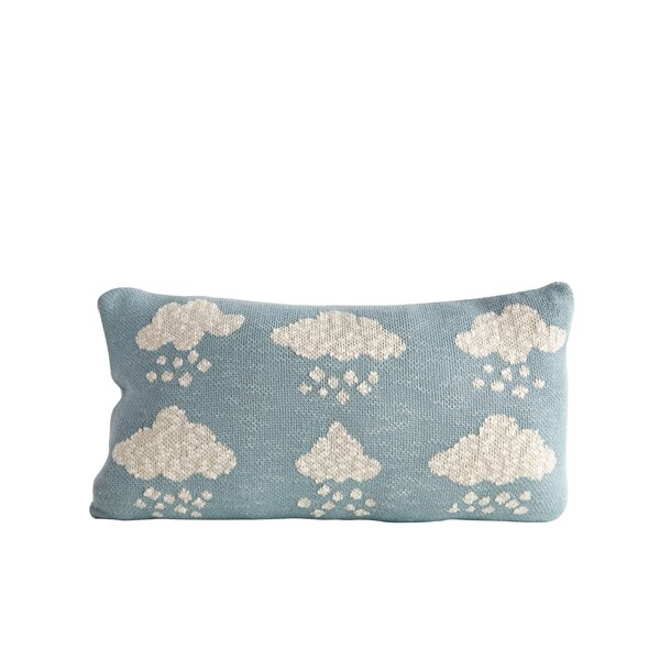 Linette Cloud 100% Cotton Throw Pillow by Harriet Bee